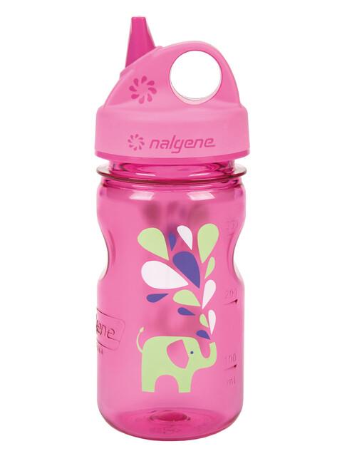 Nalgene Everyday Grip-n-Gulp Trinkflasche 350ml pink elefant